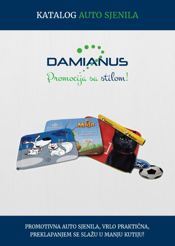 DAMIANUS Autosjenila catalog | Corporate and Business Gifts