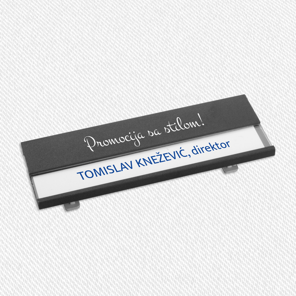 Bindel name tag - Bindel name tag