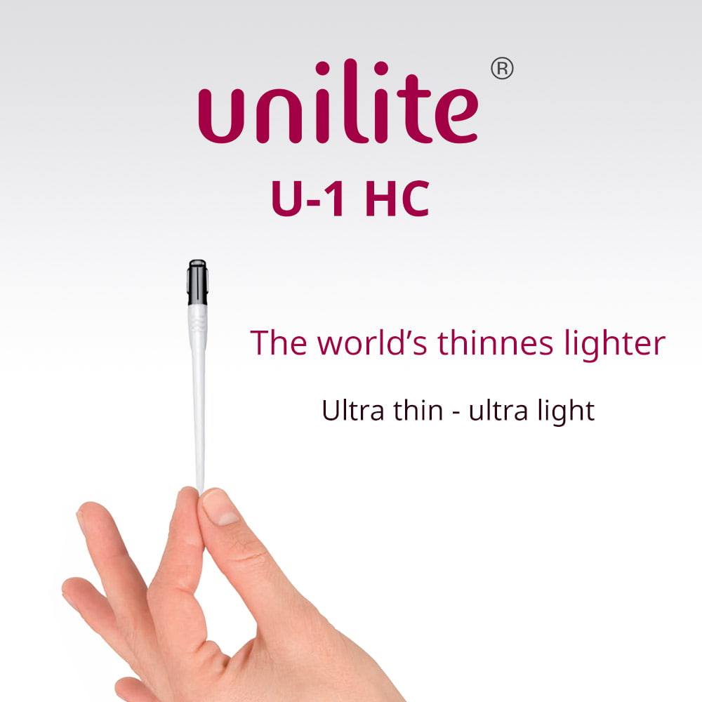 Lighter Unilite U-1 HC - The thinnest lighter, elegant and stylish, so slim to fit in every pocket!