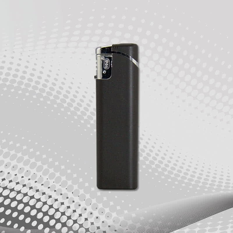 Lighter TOM SM-3 Metallic Matt - Classic electronic lighter with metallic finishing