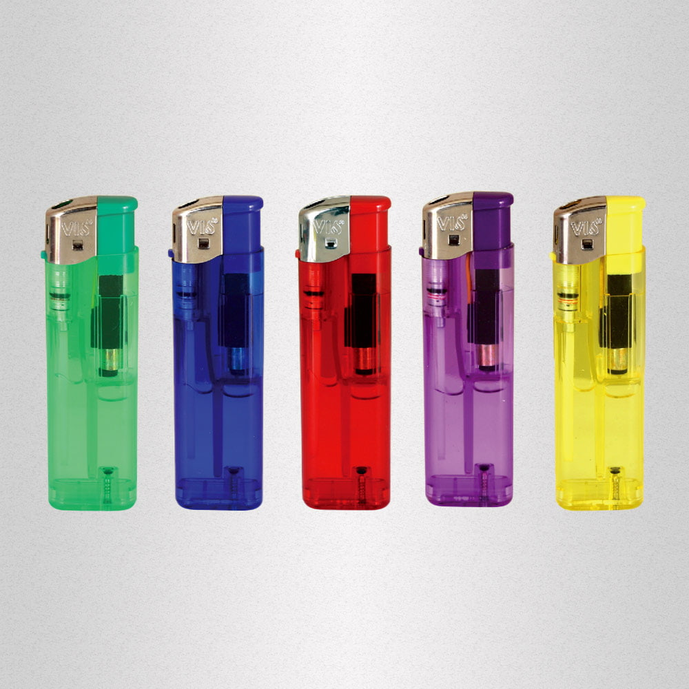 VIO one TC-5 affordable electronic lighter - VIO one TC-5 affordable electronic lighter with transparent body