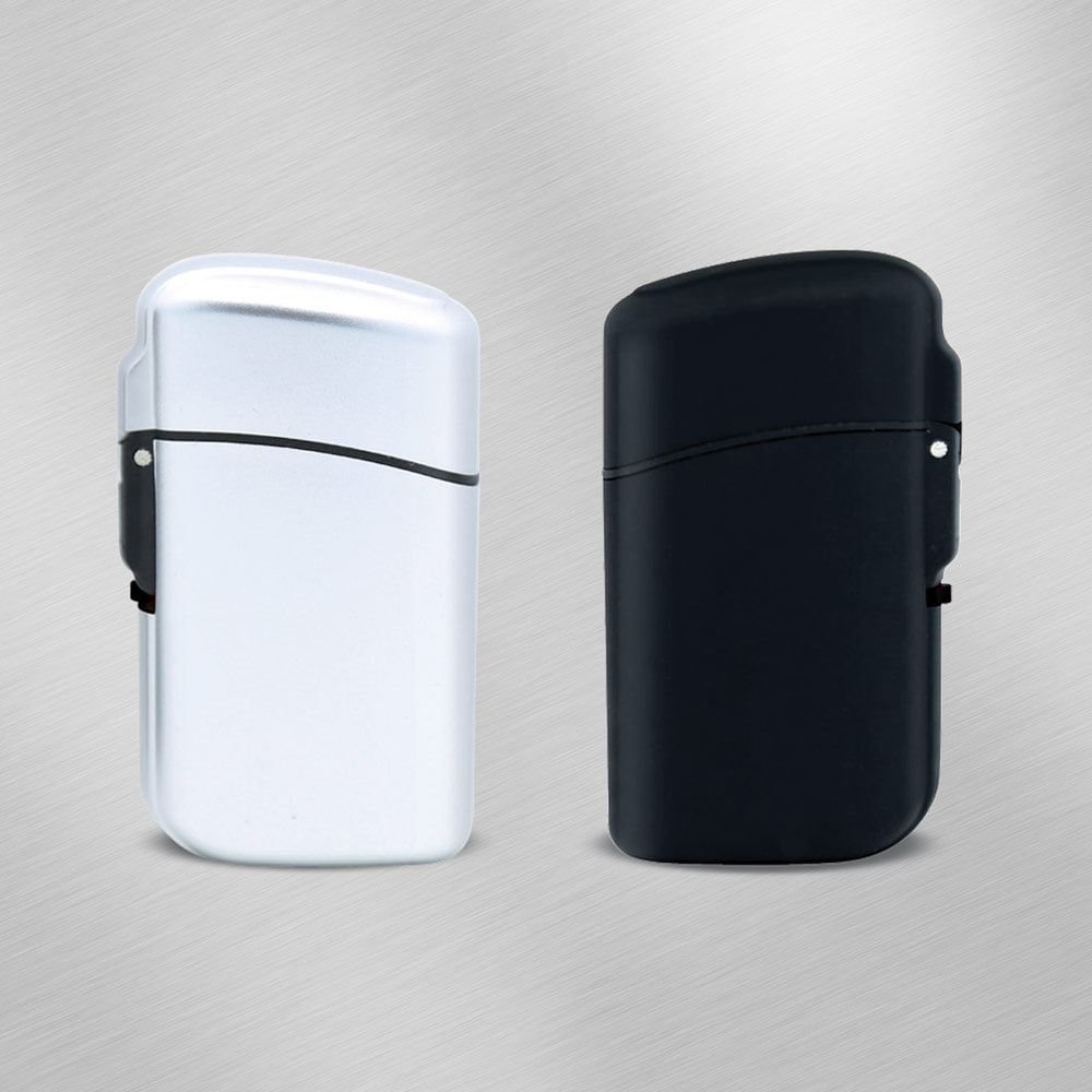 TOM JB-1 Metallic Matt Jet elegant lighter - TOM JB-1 Metallic Matt Jet elegant lighter
