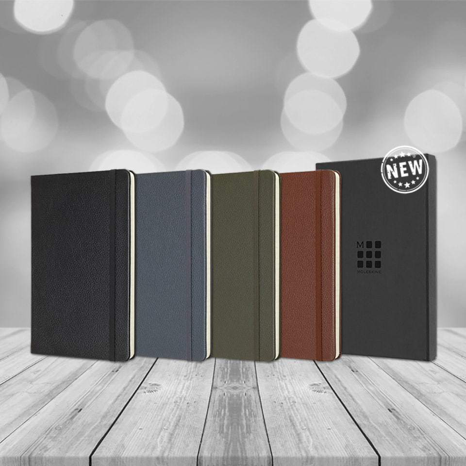 MOLESKINE VM330 notebook with premium leather cover - MOLESKINE VM330 notebook with premium leather cover