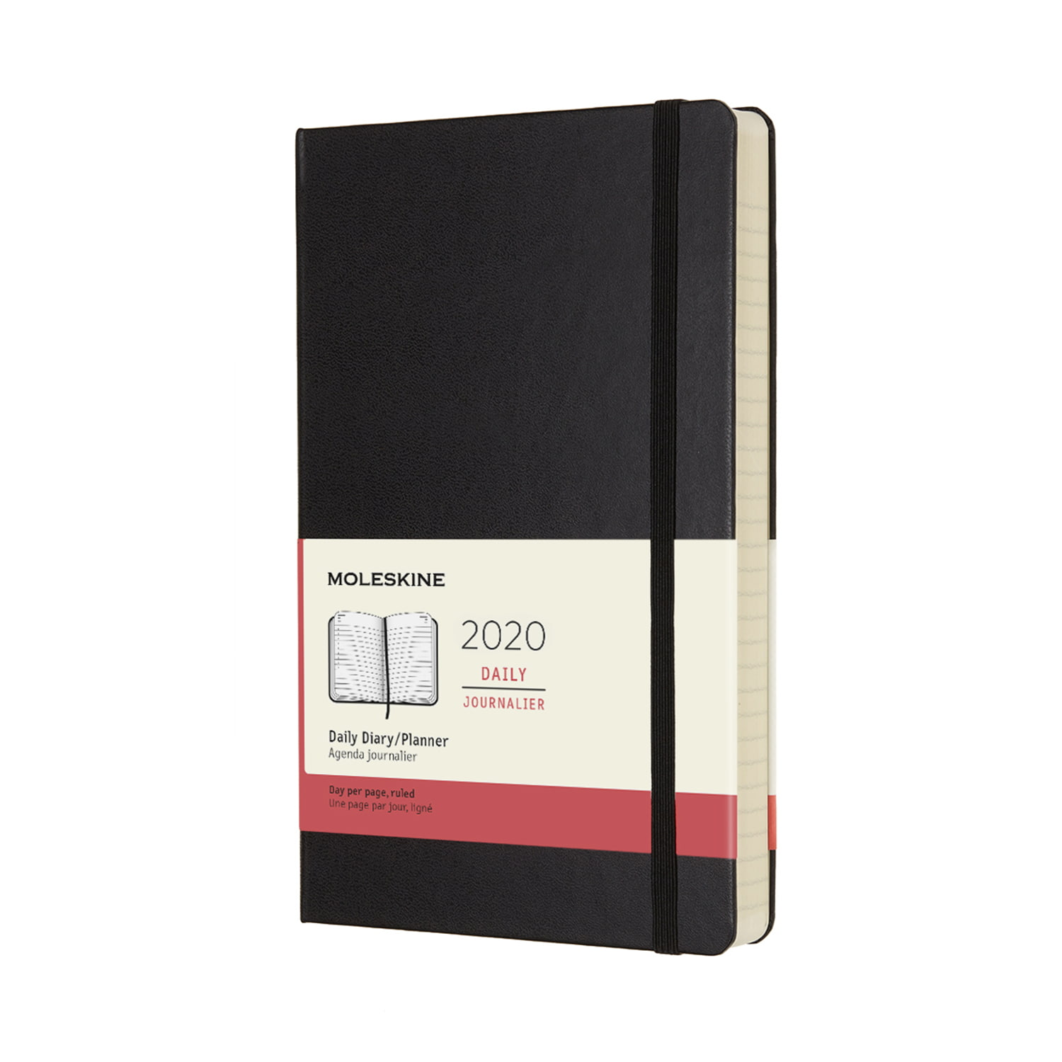 MOLESKINE 12-month large daily planner for 2020 - MOLESKINE 12-month large daily planner for 2020