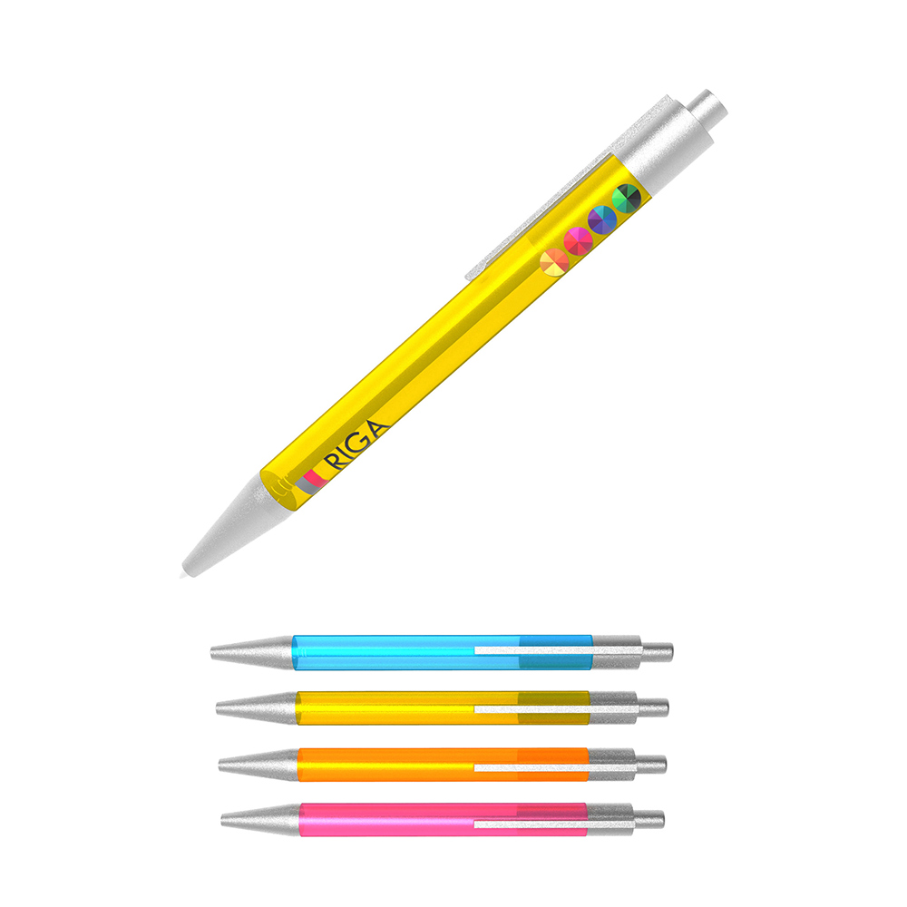 Pen Riga - Colorful pen for a low price
