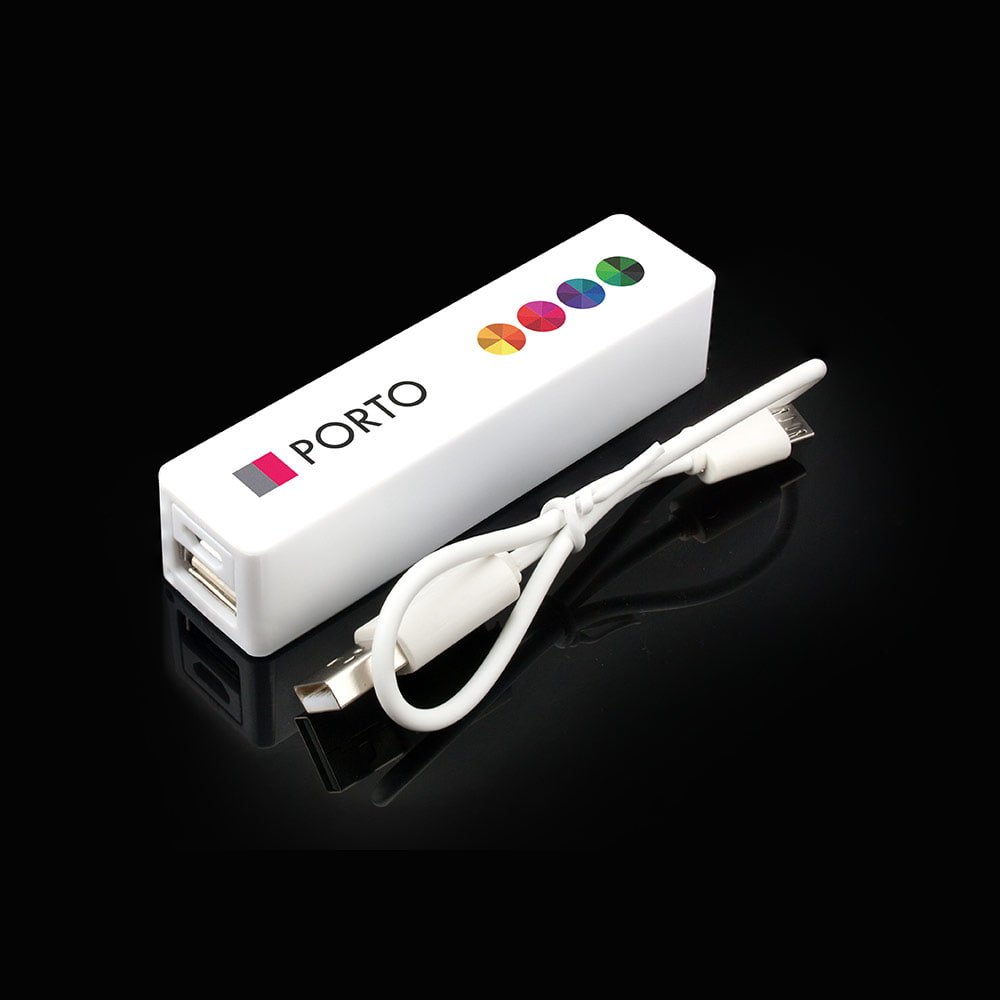 Power Bank Porto - Compact promotional Power Bank Porto 2200 mAh