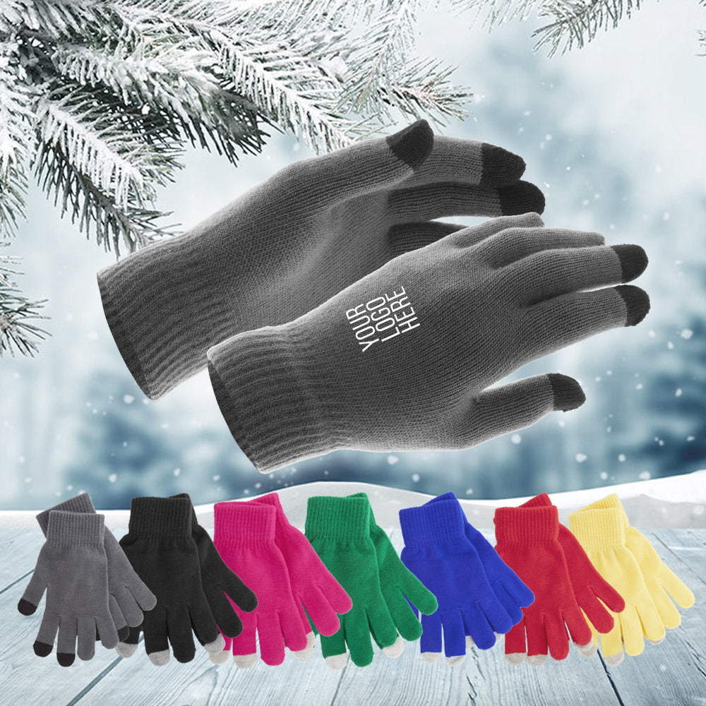 Actium winter gloves for smartphones and tablets - Actium winter gloves for smartphones and tablets