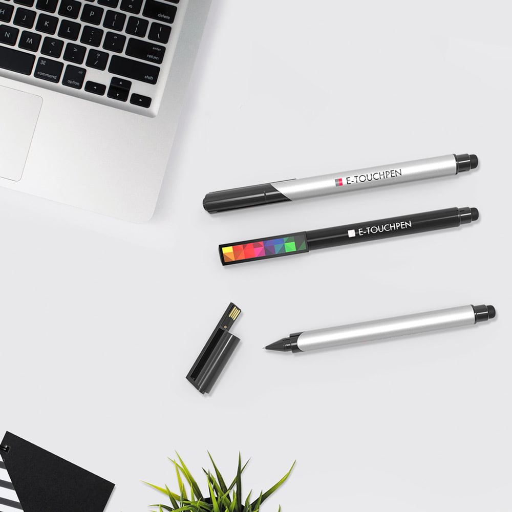 E-Touchpen with USB memory and pen - E-Touchpen with USB memory and pen