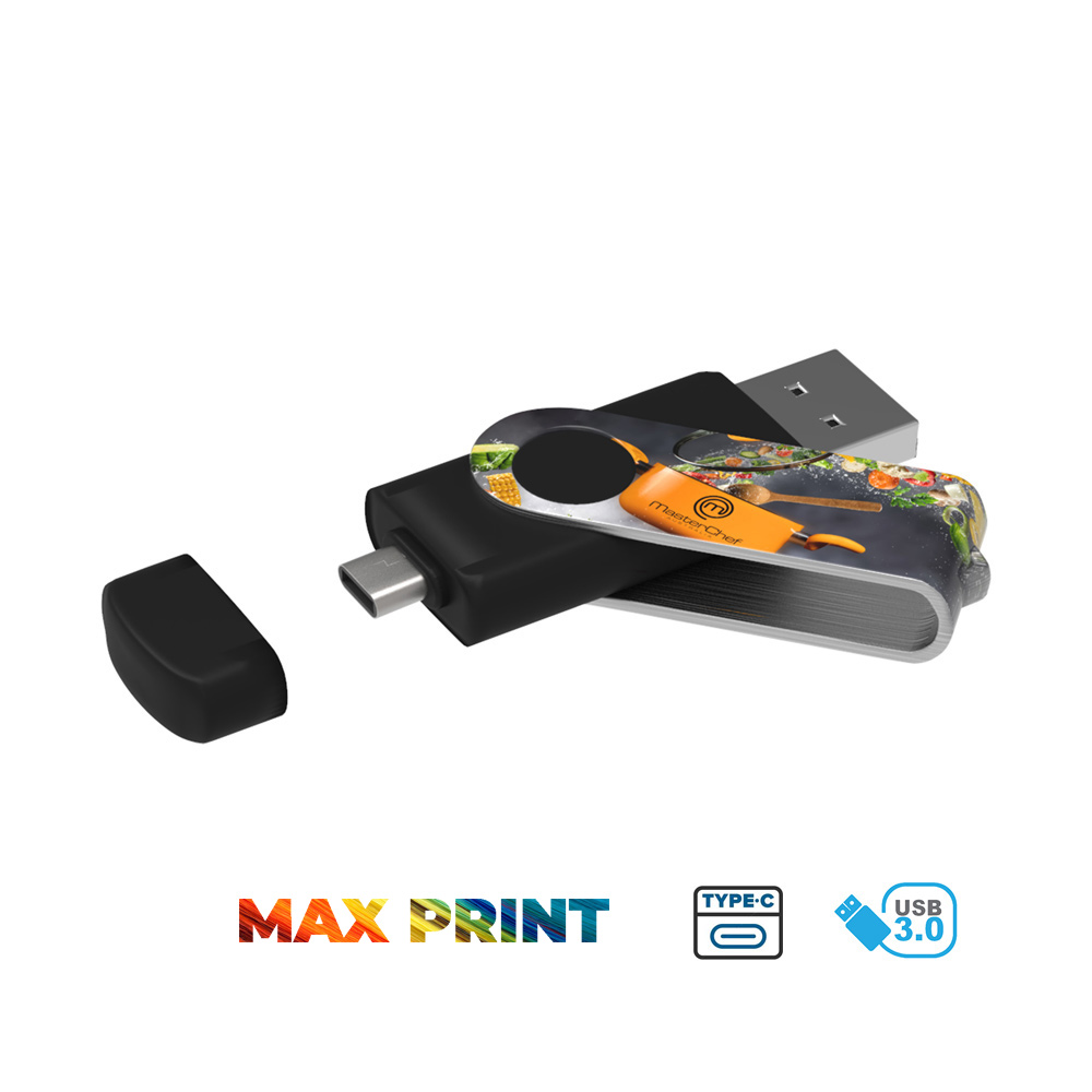 USB Stick Twister-C 3.0 Max Print - USB Stick Twister-C 3.0 Max Print