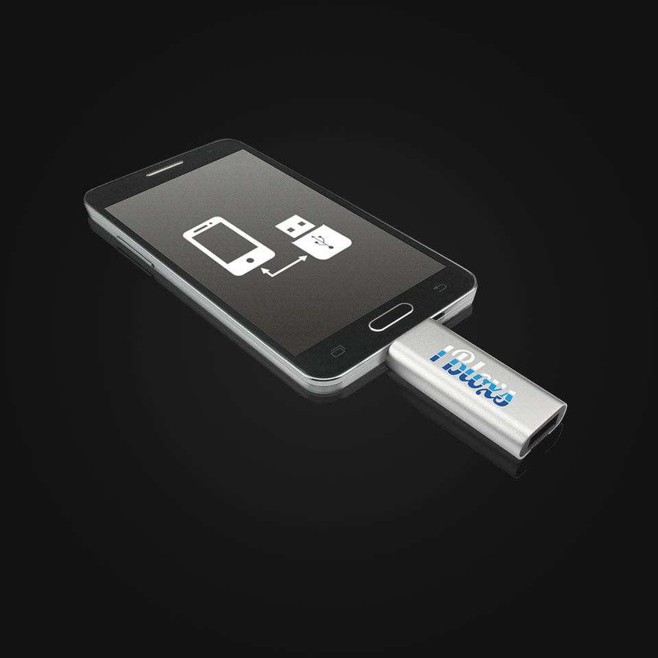 USB OTG Slide - USB stick with micro USB